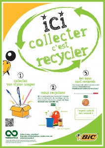 Affiche Recyclage