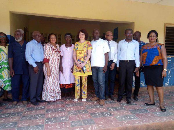 Rencontre avec le personnel de santé et la municipalité de Toumodi